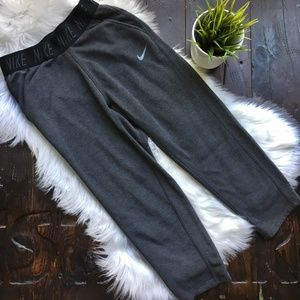 NIKE Dri Fit Cropped Sweatpants Women's SMALL EUC